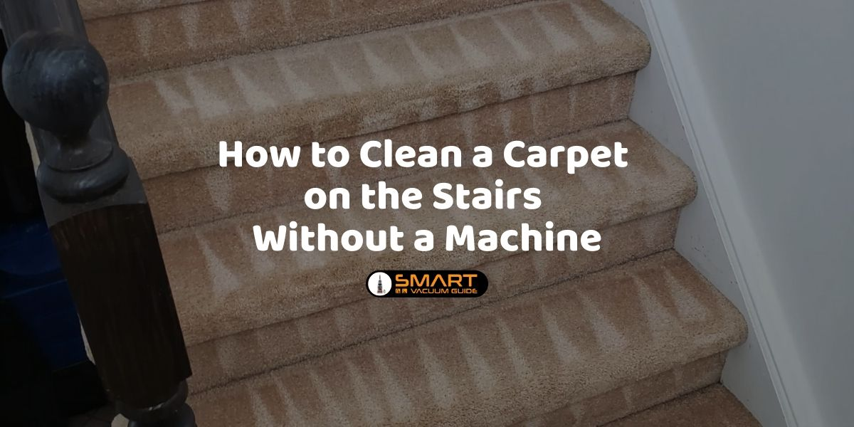 How to Clean a Carpet on the Stairs without a Machine VacuumGuide