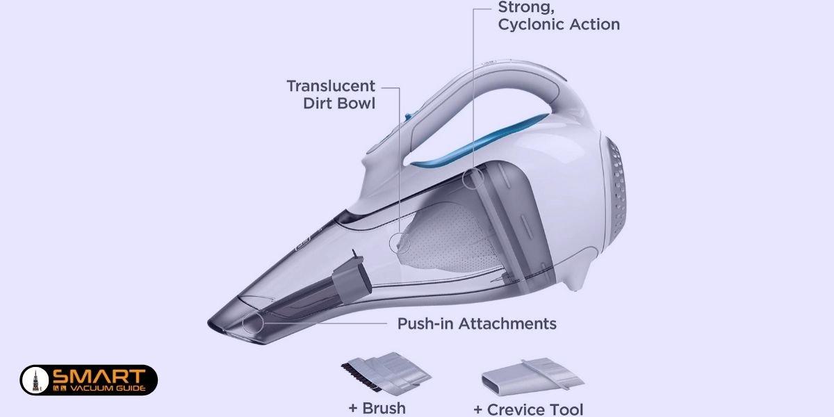 1. Handheld vacuums SmartVacuumGuide