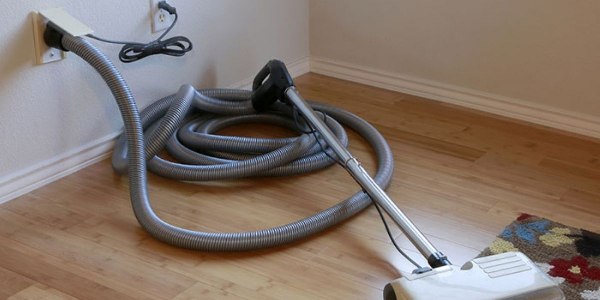 What is a home central vacuum cleaning system