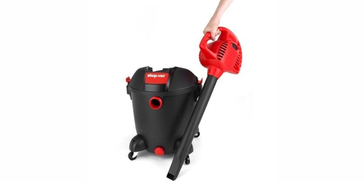 use a shop vac as a blower