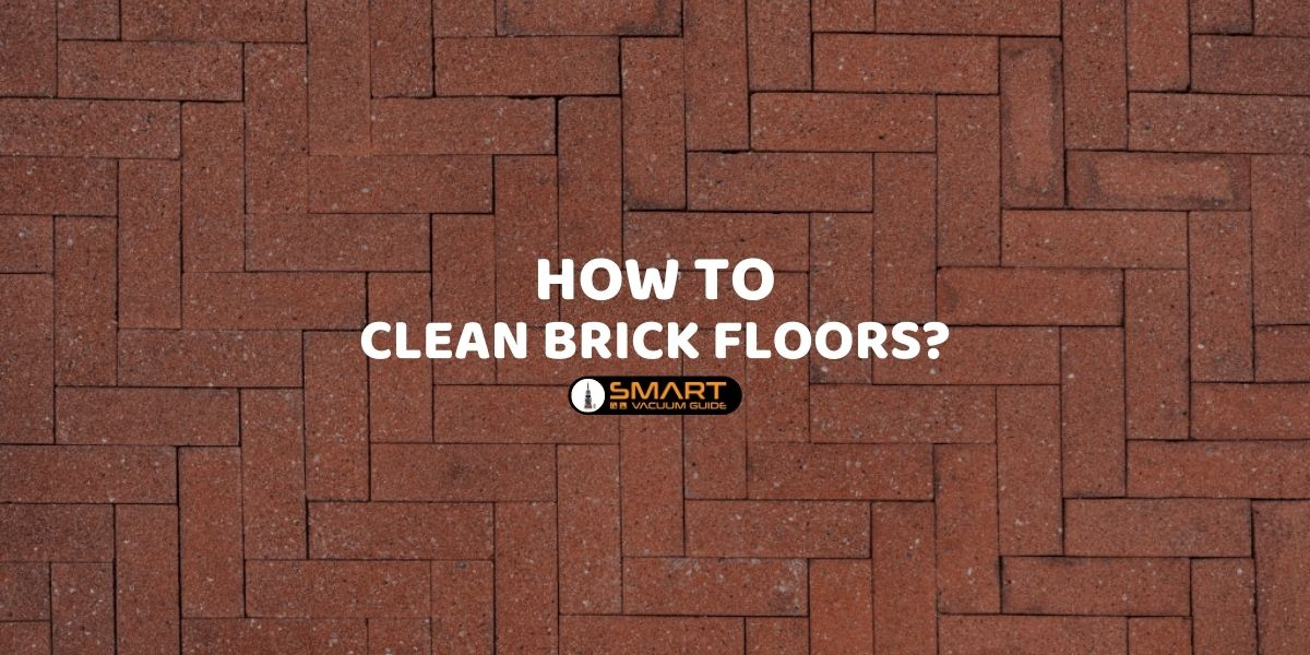 How to clean brick floors_