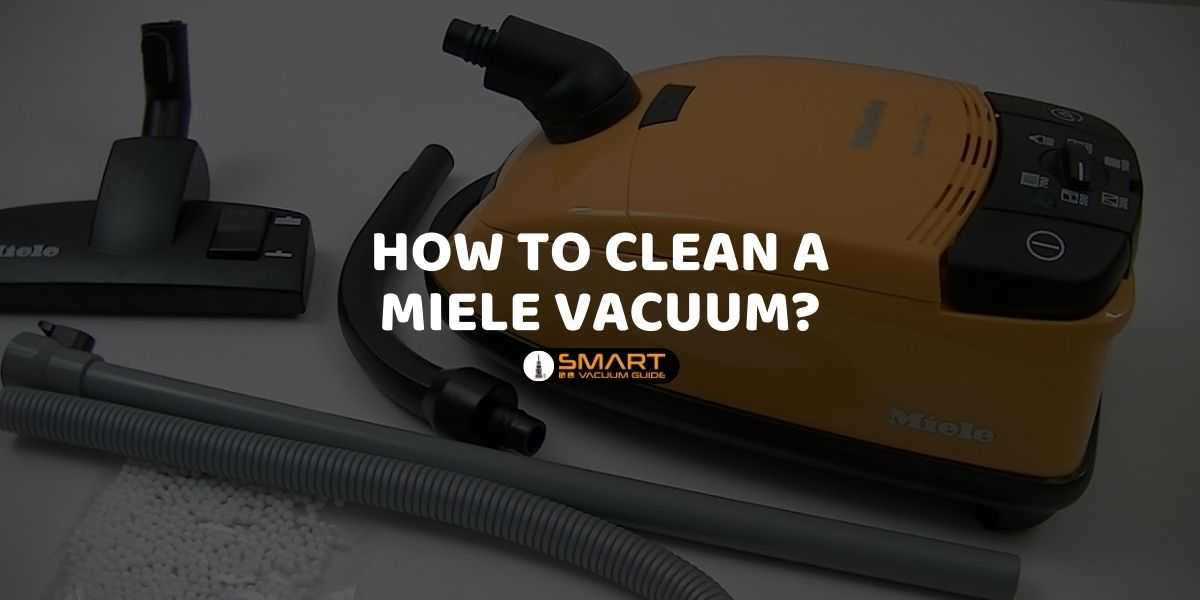How to clean a Miele vacuum_